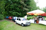 Presentation and exhibition of cars